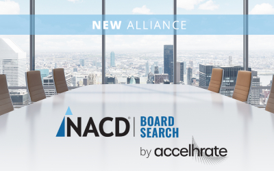 NACD Forms Alliance With Top Search Firm accelHRate