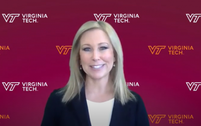 Kim Shanahan selected as the 2021 Keynote Commencement Speaker for Virginia Tech's Pamplin College of Business